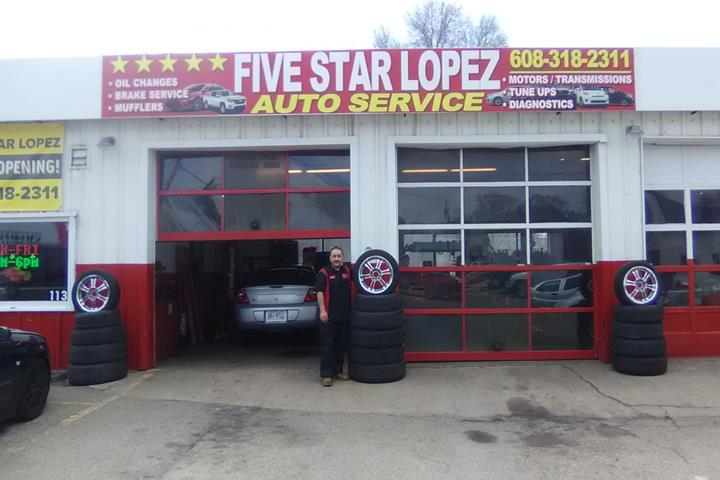 five star lopez auto service auto repair service whitewater wi